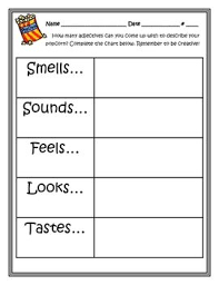 best descriptive writing activities ideas this activity promotes creative writing and demonstrates how adjectives make our writing more interesting i descriptive