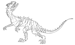 Small Picture Velociraptor Coloring Pages Best Coloring Pages For Kids