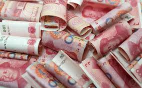 mess chinese yuan money 100 rmb background 1074754 Stock Photo at Vecteezy