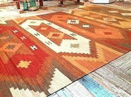wool rug geometric cotton multi coloured kite from west elm kilim tile w