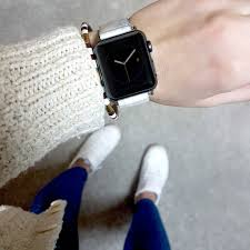 moroccan leather apple watch band 38mm 40mm 42mm 44mm