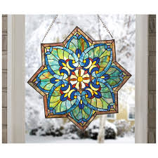 decor fresh stained glass window decorations home interior