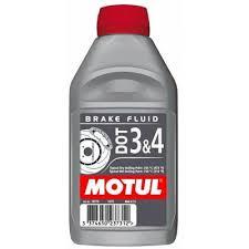 <b>Тормозная жидкость MOTUL DOT</b> 3&4 Brake Fluid 1л