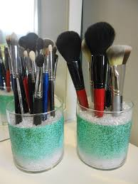 skin makeup with diy makeup brush holder with brush holderssprinkles and style diy glitter makeup brush
