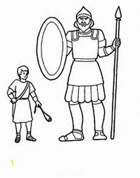 Bible Coloring Pages David And Goliath Coloring Sheets For David And