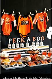 Fall Baby Shower Food Table  Aubrieu0027s Baby Shower  Pinterest Baby Shower Fall Ideas