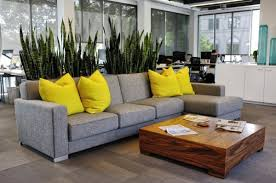 yellow and grey furniture. Grey Sofa Yellow Cushions Modern Furniture For Your Home Photo Blog And