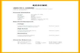 Resume References Example Best References On Resume Letsdeliverco