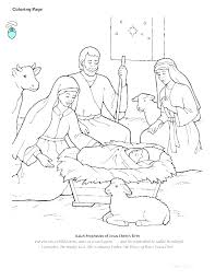 Nativity Manger Coloring Page Jesus Colouring Pages Betterfor