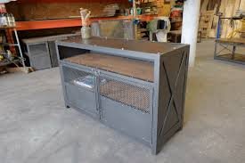 Industrial Bar Cabinet The Drake Industrial Bar Cabinet Record Console Oak Alchemy