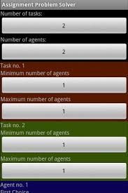 assignment problem solver android apps on google play assignment problem solver screenshot