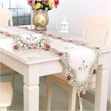 table runner with placemats top grade runner dining table cloth cushion rustic lace embroidery cloth tablecloths