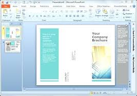 Microsoft Word Pamphlet Brochure Template On Microsoft Word Pamphlet Templates Free For 2013
