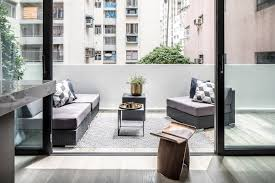 Small Hong Kong flat with a 600 sq ft terrace shows how to merge ...