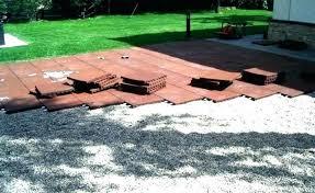 outdoor rubber patio x tiles deck ireland