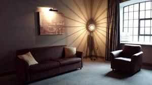 Titanic Hotel Liverpool: wow decor but a very gloomy room
