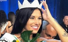 Miss Italia 80, la 20enne lombarda Carolina Stramare conquista il titolo di Miss Italia 2019