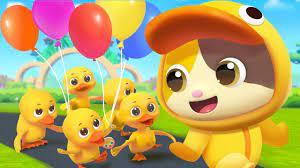 Năm chú vịt con   Five little ducks   Nhạc thiếu nhi vui nhộn