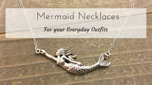 mermaid necklace blog post