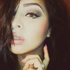 selfie glittereye cateye stinails eyebrows makeup makeupaddict makeupforever