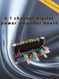 XH-M139 <b>2.1 Channel Digital</b> Audio Amplifier Board Module ...