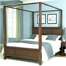Canopy Bed Full Full Size Canopy Bed Canopy Bed Frame Full Wooden ...