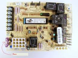 lennox furnace control board. there is a slot fuse on the board. should look like this depending what exact furnace you have. it inside furnace. lennox control board
