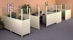 efficiency wall glass office partition