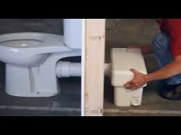 liberty pumps ascent ii 1 28 gpf macerating toilet system install a bathroom anywhere