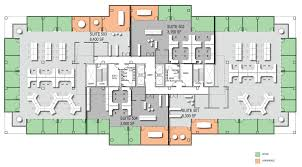 Office floor layout Floor Planning Single Tenant Floor Layout Option Perimeter Office Design Thesynergistsorg Floor Plans Parkway Tower