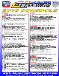 2018 farmington schedule