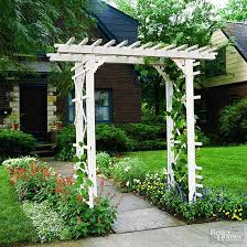 Small Picture How to Build a Simple Entry Arbor