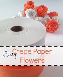 Tissue Paper Flower Decor Crepe Paper Flowers Last Minute Halloween Decor Salt Lick Lessons