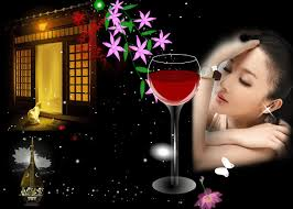 """""""夜的心思,醉你在心""""的图片搜索结果"""
