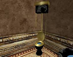 Pull Chain Toilet Beauteous Second Life Marketplace Black Dragon Collection Pull Chain Toilet