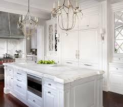 mirrored kitchen cabinets