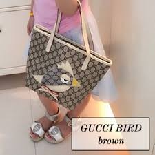 gucci bags for kids. gucci zoo theme bird inspired replica bags for kids (brown) r