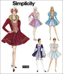 Costume Sewing Patterns Impressive Simplicity 48 Misses Costumes