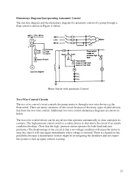 elementary diagrams 22 23 23 elementary diagram incorporating automatic control