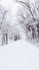 snow wallpaper iphone 6. Plain Wallpaper Winter Road Romantic Nature Snow White Wallpaper Iphone Phone  Wallpapers With Iphone 6 Pinterest