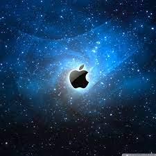 Apple Galaxy Blue Ultra HD Desktop ...