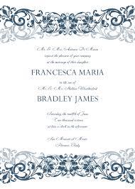 Invitation Templete Wedding Invitation Templates Free Download Regarding Invitation 7