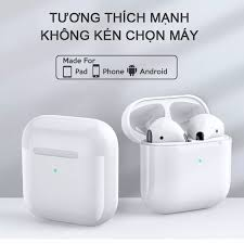 Tai nghe Pro5 KL tai nghe bluetooth 5.0 không dây thế hệ mới cảm ứng vân  tay thông minh cho iphone samsung oppo..vv Không có đánh giá