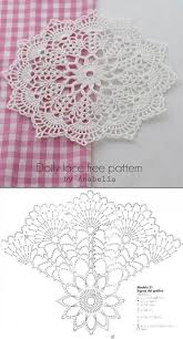Doily By Anabelia With Free Chart Crochet Doily Patterns