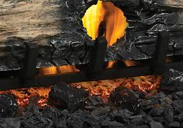 charcoal lumps charcoal embers glowing embers standard