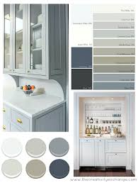 painted gray kitchen cabinetsKitchen Cabinet Paint Colors  Coredesign Interiors