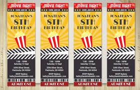 Admit One Ticket Template Free Mesmerizing Printable Movie Ticket Template Vastuuonminun