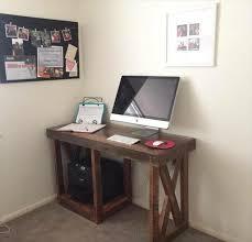 best 25 simple computer desk ideas on rustic computer collection in computer desk ideas diy