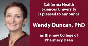 Wendy Duncan, PhD Announced as Dean of the CHSU College of Pharmacy – CHSU  College of Pharmacy