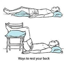 5 things to relieve lower back pain ia degenerative disc disease and herniated disc hope it works can be done on the floor a sy table